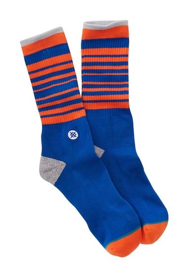 Accesorii Barbati Stance Knicks Arena Core Socks BLUE