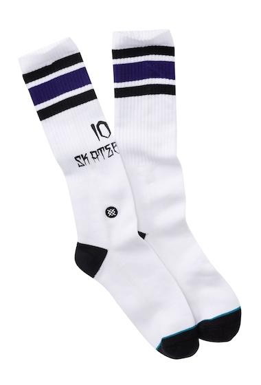 Accesorii Barbati Stance 100 Percent Skate Socks WHITE
