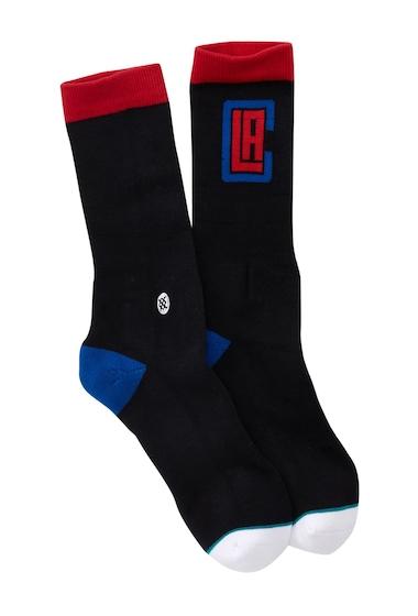 Accesorii Barbati Stance Clippers Arena Logo Crew Socks BLACK