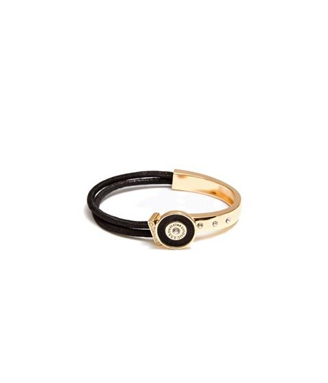 Bijuterii Femei GUESS Gold-Tone and Black Glitter Bracelet black