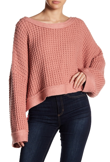 Imbracaminte Femei Free People Maybe Baby Pullover Sweater ROSE