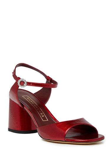 Incaltaminte Femei Marc Jacobs Amelia Ankle Strap Sandal RED
