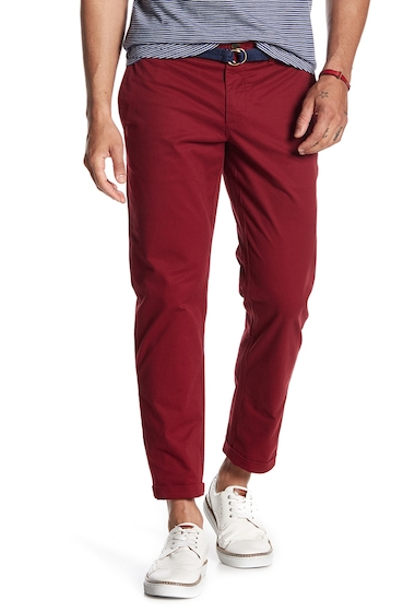Imbracaminte Barbati Original Penguin P55 Slim Stretch Chinos - 32 Inseam POMEGRANATE
