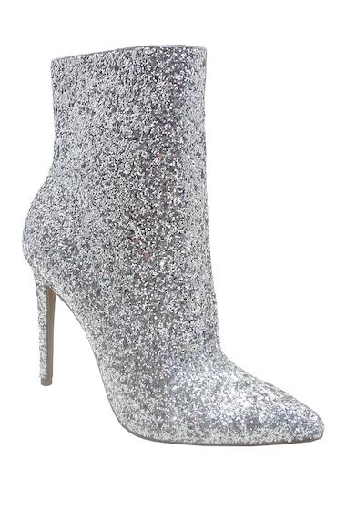 Incaltaminte Femei Wild Diva Lounge Giselle Glitter Sock Boot SILVER