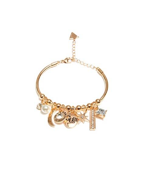 Bijuterii Femei GUESS Gold-Tone Bangle Bracelet gold