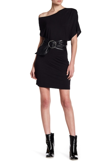 Imbracaminte Femei Kendall Kylie One Shoulder Dress BLK