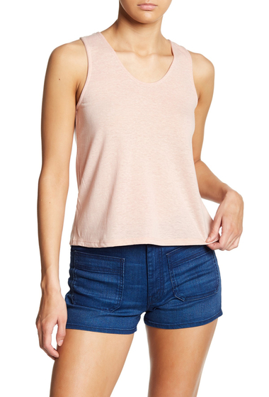 Imbracaminte Femei Poof Lace-Up Back Tank PINK SAND