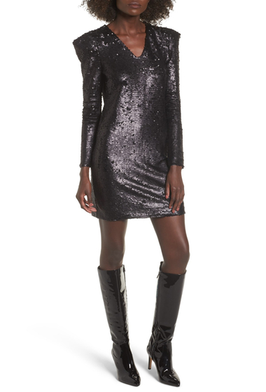 Imbracaminte Femei Leith Sequin Dress BLACK