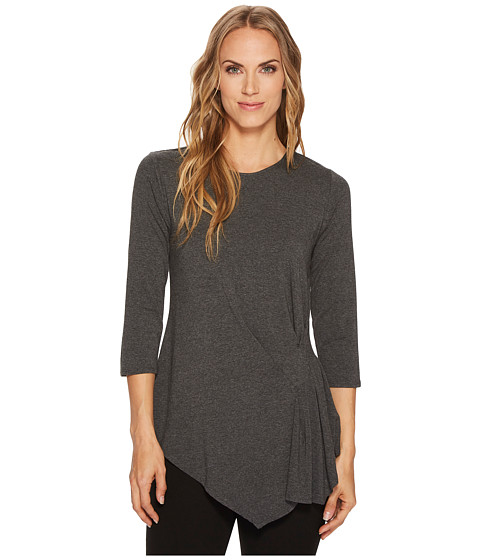 Imbracaminte Femei Vince Camuto 34 Sleeve Side Ruched Top Medium Heather Grey