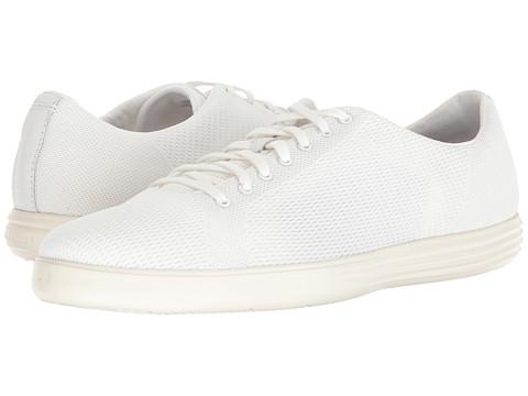 Incaltaminte Barbati Cole Haan Grand Crosscourt Knit Sneaker White Knit