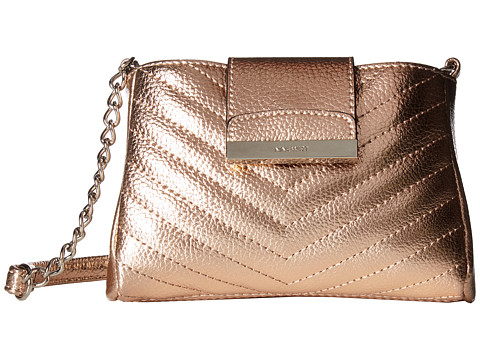 Genti Femei Nine West Carolyne Crossbody Metallic Rose Gold