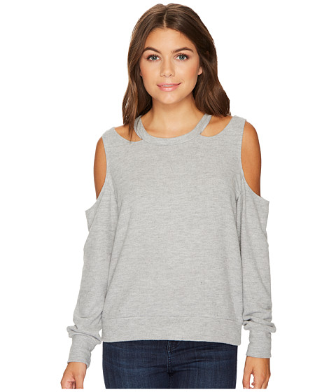 Imbracaminte Femei LnA Earl Sweater Heather Grey
