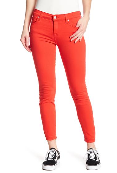 Imbracaminte Femei 7 For All Mankind Gwenevere Released Hem Skinny Jeans POPPY