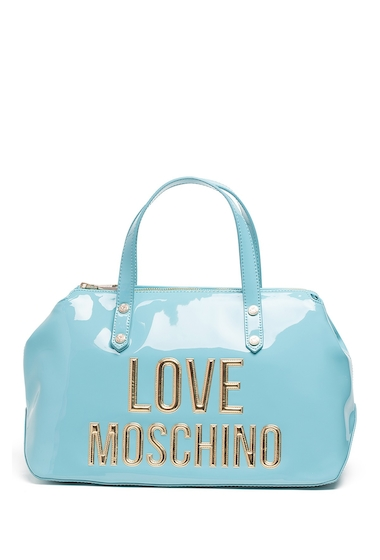Genti Femei LOVE Moschino Front Logo Shoulder Bag AVIO