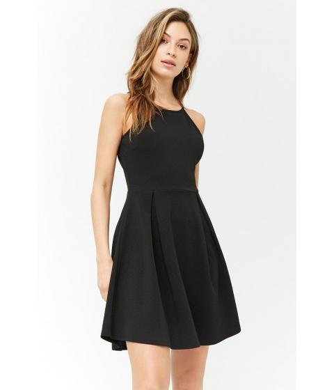 Imbracaminte Femei Forever21 Box-Pleated Cami Dress BLACK