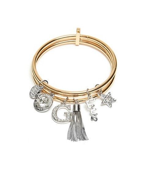 Bijuterii Femei GUESS Gold-Tone Logo Bangle Set gold
