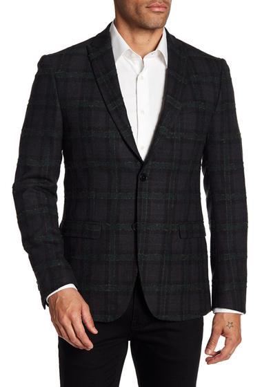 Imbracaminte Barbati DAVID NAMAN Print Jacket GREY