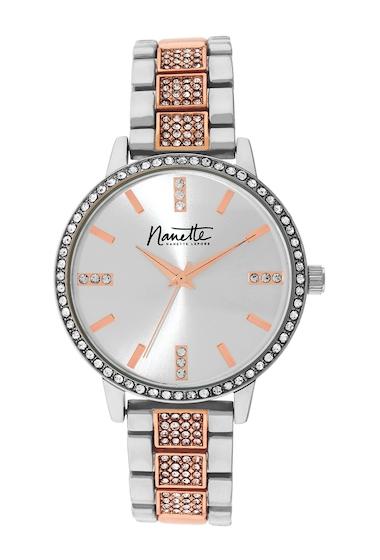 Ceasuri Femei NANETTE nanette lepore Womens Two-Tone Metal Watch 36mm TWO-TONE