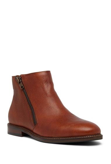 Incaltaminte Barbati Kenneth Cole Reaction Pebble Leather Boot COGNAC