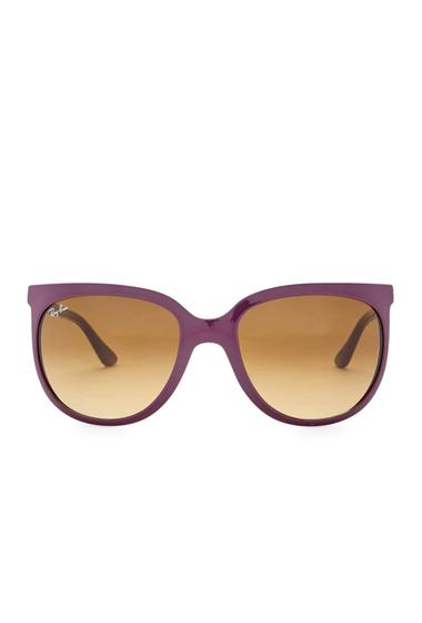 Ochelari Femei Ray-Ban Womens Oversized Sunglasses SHINY VIOLET