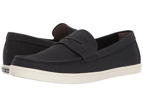 Incaltaminte Barbati Cole Haan Hyannis Penny Loafer II Black Canvas