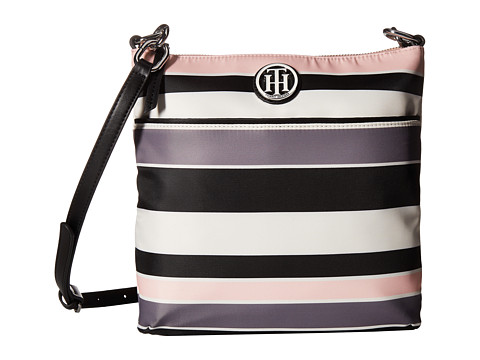 Genti Femei Tommy Hilfiger TH Signature Crossbody BlackPink