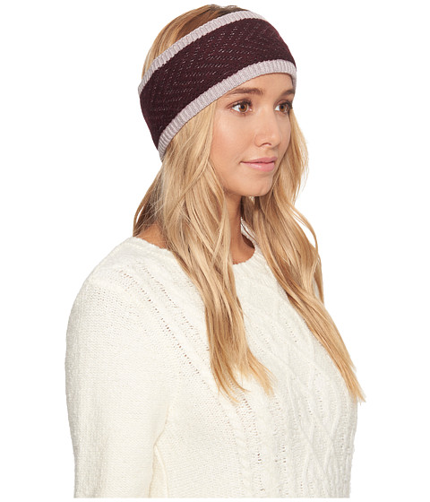 Accesorii Femei UGG Chevron Lined Headband Starlight Heather Multi