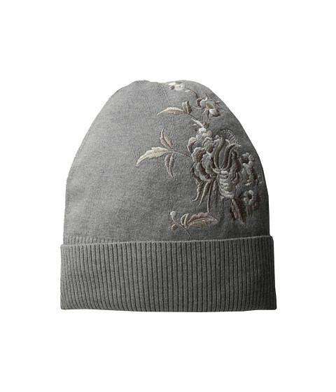 Accesorii Femei LAUREN Ralph Lauren Chrysanthemum Embroidered Hat Light Grey Heather