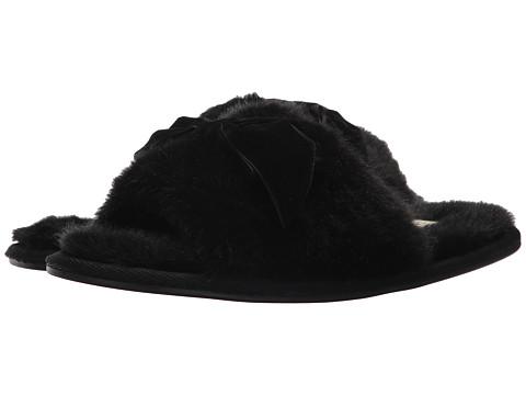 Incaltaminte Femei Kate Spade New York Parfett Slipper Black Plush Fur