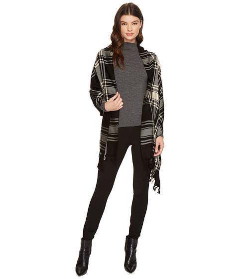 Accesorii Femei LAUREN Ralph Lauren Icon Plaid Blanket Wrap BlackRose