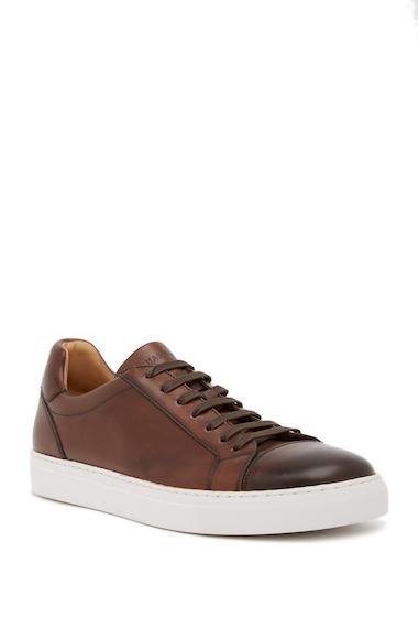 Incaltaminte Barbati Magnanni Cuervo Leather Sneaker MID BROWN