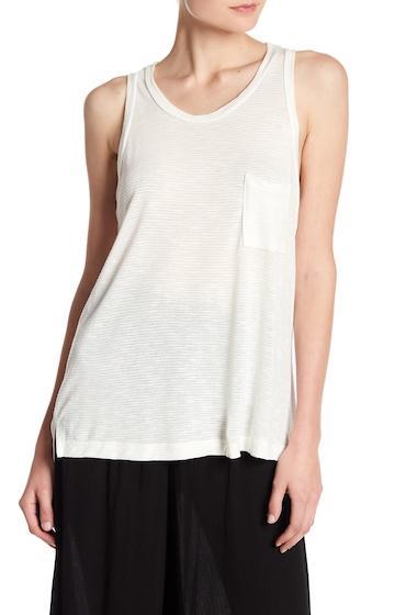 Imbracaminte Femei Lush Shadow Stripe Knit Tank IVORY