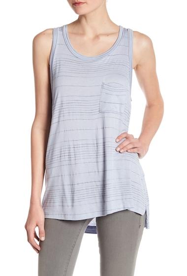 Imbracaminte Femei Lush Slub Striped Knit Tank ICY BLUE-BLACK