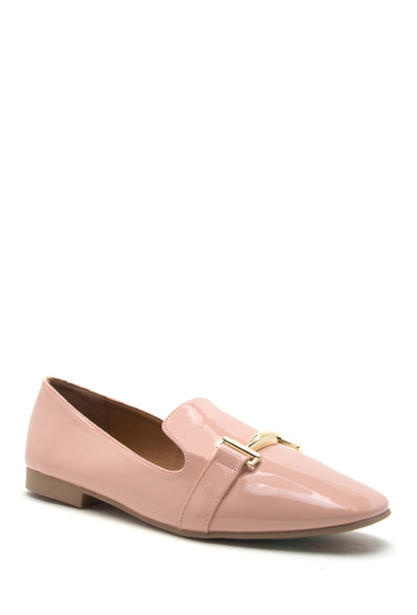 Incaltaminte Femei Qupid Moby Horsebit Loafer SOFT BLUSH
