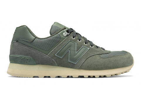 Incaltaminte Barbati New Balance 574 Outdoor Activist Green with Tan