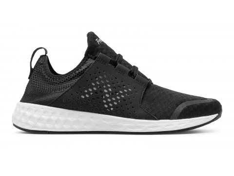 Incaltaminte Barbati New Balance Mens Fresh Foam Cruz Black with White