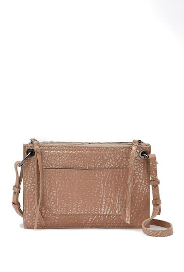 Genti Femei Kooba Laguna Leather Crossbody Bag LATTE METALLIC 11