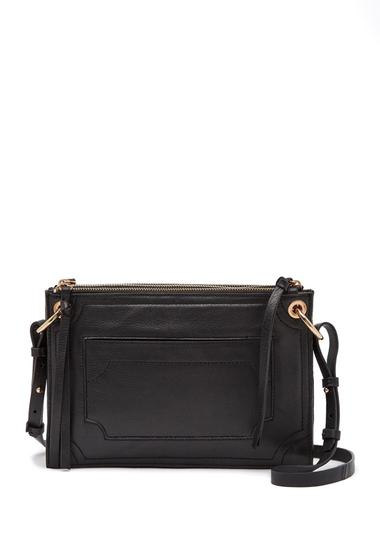 Genti Femei Kooba Laguna Leather Crossbody Bag BLACK 08