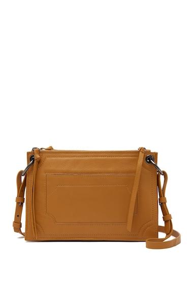 Genti Femei Kooba Laguna Leather Crossbody Bag AMBER 15