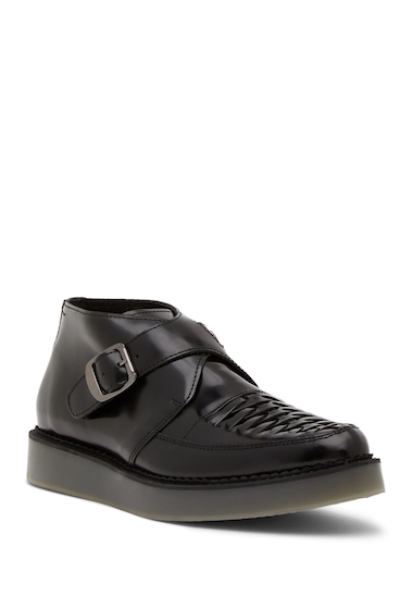 Incaltaminte Barbati Diesel Creep Deep D-Khiris Monk Strap Shoe BLACK