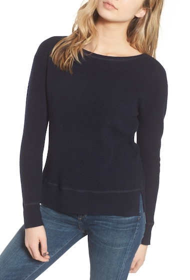 Imbracaminte Femei James Perse Thermal Cashmere Top PEARL