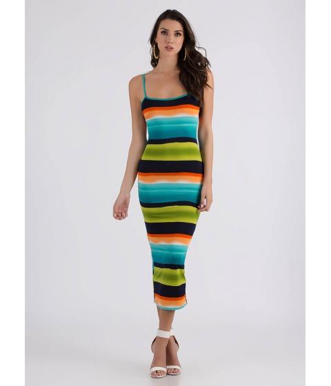 Imbracaminte Femei CheapChic Sunset At The Beach Striped Maxi Dress Multi