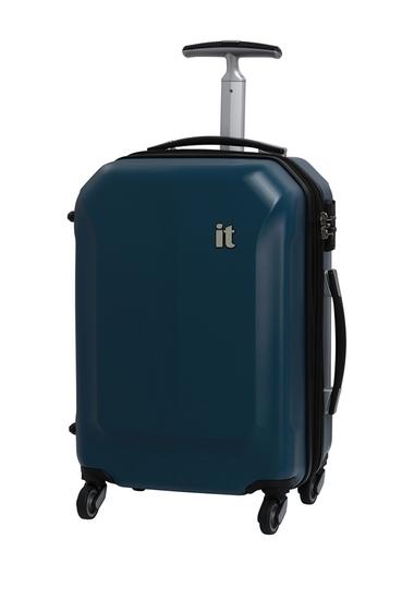 Genti Femei IT Luggage 215 Aerodynamic 4-Wheel Expandable Spinner Case LEGION BLUE