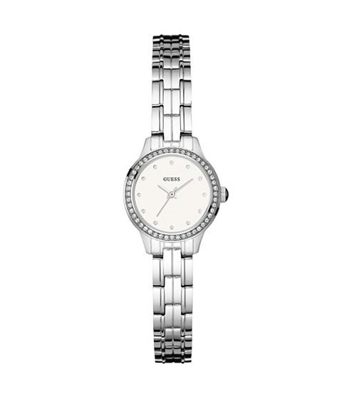 Ceasuri Femei GUESS Silver-Tone Rhinestone Watch no color