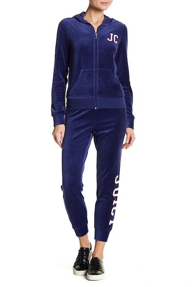 Imbracaminte Femei Juicy Couture Zuma Velour Jogger Sweatpants TWILIGHT BLUE
