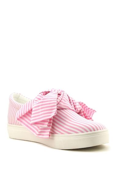 Incaltaminte Femei Cape Robbin Dolly Bow Sneaker PINK
