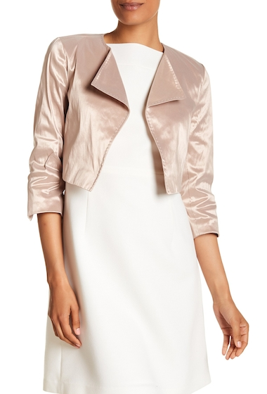 Imbracaminte Femei Lafayette 148 New York Serena Metallic Jacket POWDER IRID