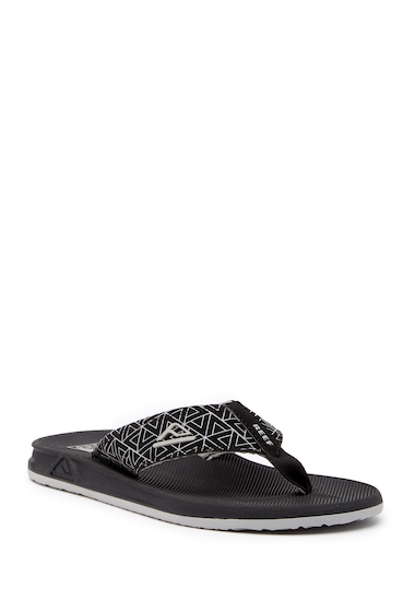 Incaltaminte Barbati Reef Phantom Prints Flip Flop BLACK TRIA