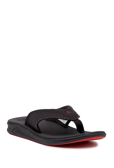 Incaltaminte Barbati Reef Rover Mesh Flip Flop BLACK RED