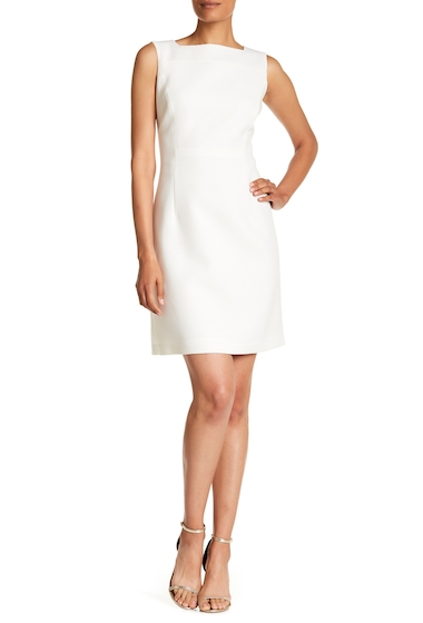 Imbracaminte Femei Lafayette 148 New York Jojo Sleeveless Wool Dress CLOUD